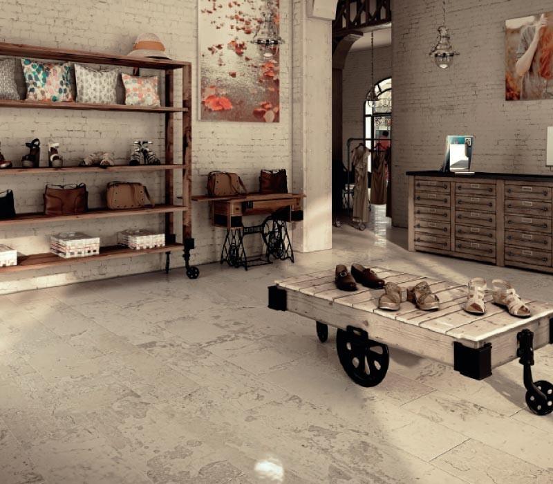 Cosentino revestimiento de escaleras interiores blanco zeus wow design showroom venta de - Revestimiento para escaleras ...