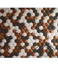 Elemento decorativo de la firma okiun modelo cuore mate wowdesignshowroom