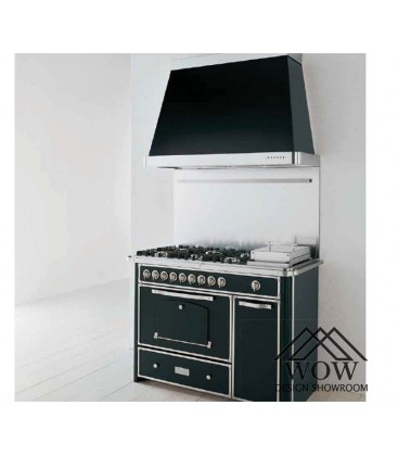 Barazza cocina y campana de acero...