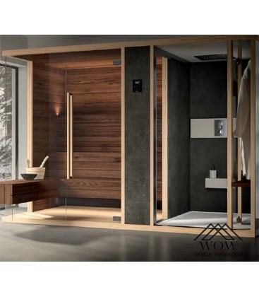 Albatros sauna y hammam modula combi...