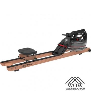 Lifefitness máquina de remos madera...