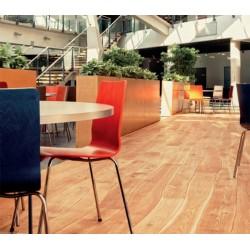 Viroc paneles de virutas de madera y cemento unsanded grey
