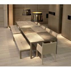 Valchromat paneles de fibra de madera  mdf coloreada en masa modelo grey
