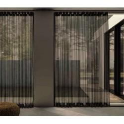 Kok Maison set de 2 Lamparas suspendidas realizada con laminas ratas modelo grey kooboo