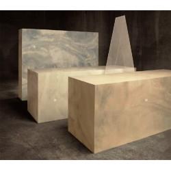 Bongio griferia en acero cromado modelo grip de Antonio Bongio