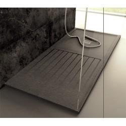 Cea pulsador para cisterna empotrada de acero inoxidable modelo hidroplate pla02L diseñado por Natalino Malasorti