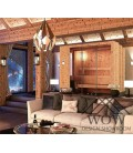 Panelados de madera anticato hrc1905 solid reclaimed pine grey cladding